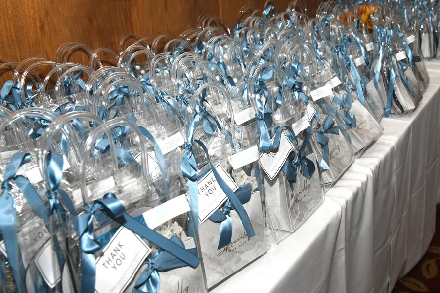 Gift bags at the 2019 star performer reception