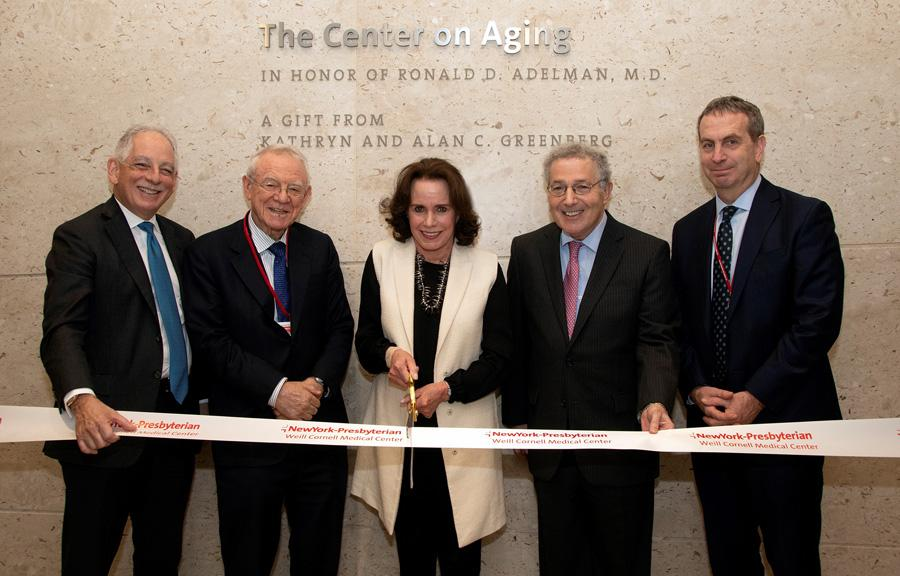 Center on Aging ribbon-cutting