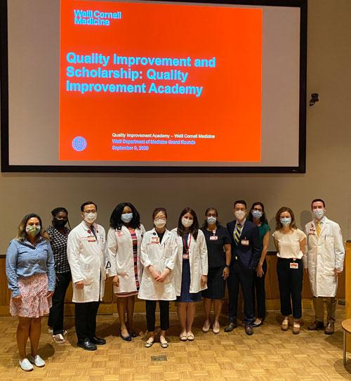 2020 QIPS QIA grand rounds group photo