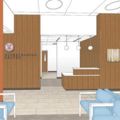 rendering of new Hypertension Center