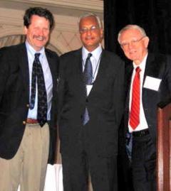 Dr. Califf, Dr. Suthanthiran, Dr. Pardes